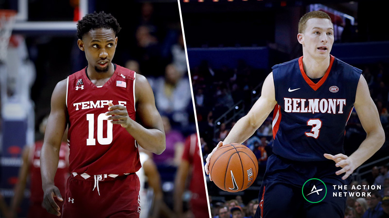 Temple-Belmont Betting Guide: Do Hot-Shooting Bruins Have Edge in NCAA Tournament? article feature image