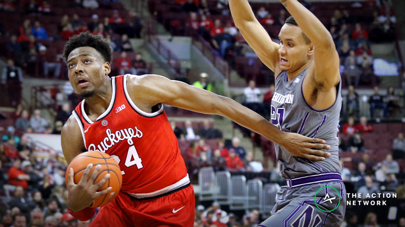 College Basketball Sharp Report: Pros Betting Ohio State-Northwestern, 2 Other Wednesday Games article feature image