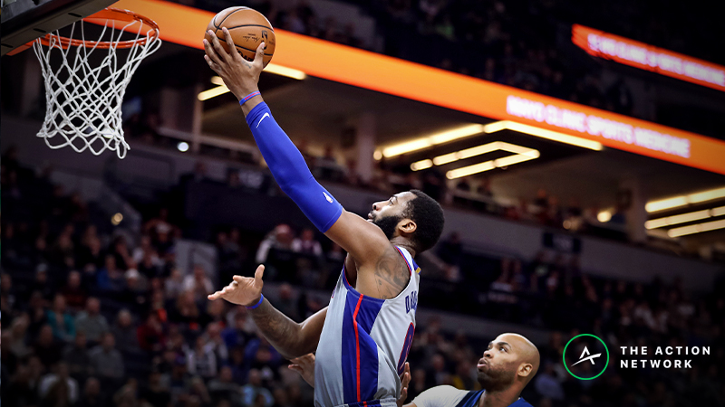 Raybon's Favorite NBA Player Props for Wednesday: Andre Drummond Over/Under 17 Points? article feature image
