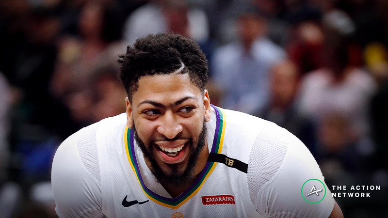 Raybon's Favorite NBA Props for Friday: Anthony Davis Over/Under 8.5 Rebounds? article feature image