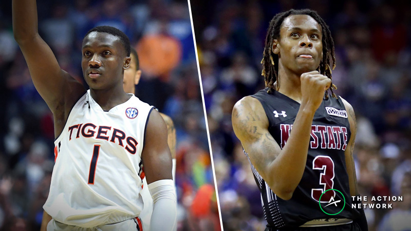 Auburn vs. New Mexico State Betting Guide: Letdown for SEC Champs in NCAA Tournament? article feature image