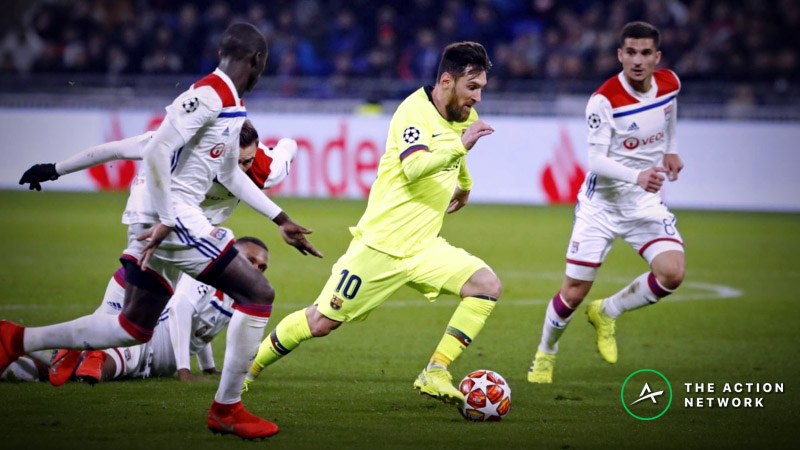 Champions League Round of 16: Will Barcelona Cruise Against Lyon? article feature image