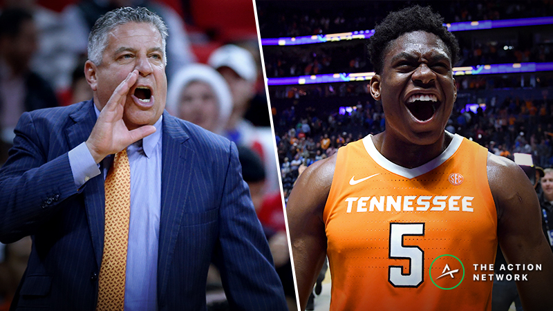 SEC Tournament Championship Mega Guide: How to Bet Auburn-Tennessee article feature image