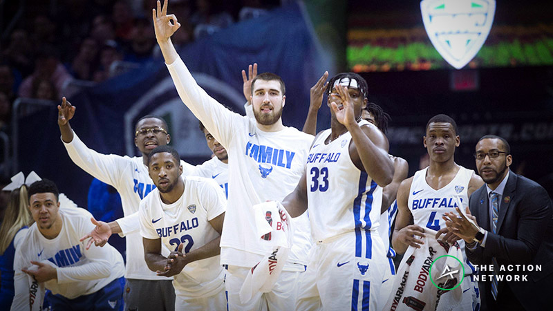 Buffalo vs. Arizona State Betting Odds: Opening Spread, Analysis for 2019 NCAA Tournament article feature image