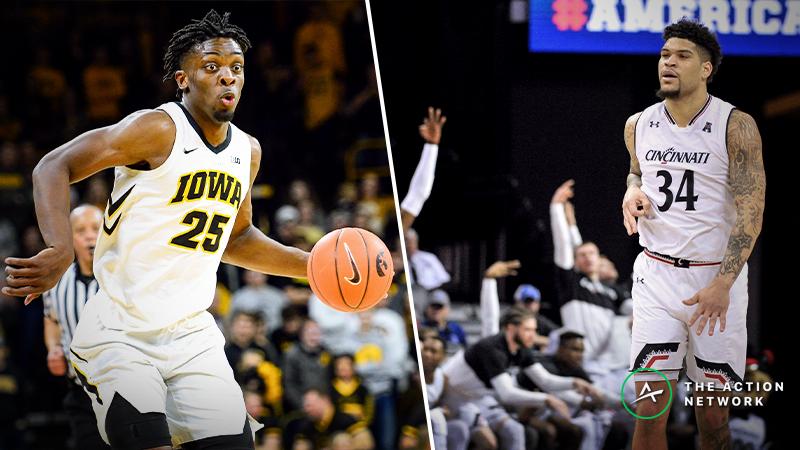 Cincinnati vs. Iowa Betting Guide: Will Hawkeye Magic Continue in NCAA Tournament? article feature image