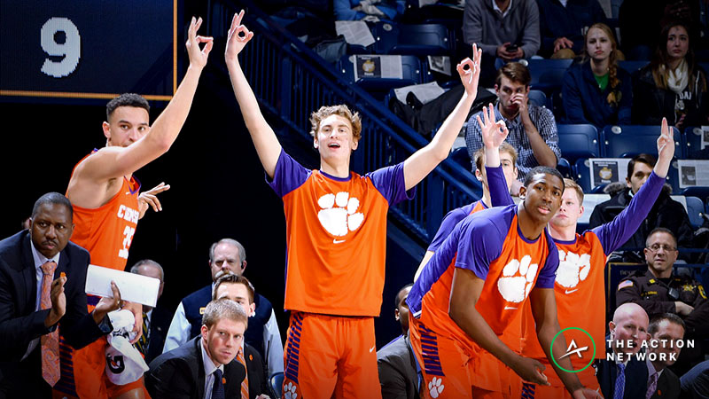 Saturday's College Basketball Four-Teamer: The People's Parlay article feature image