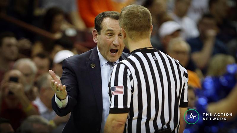 NCAA Tournament Sharp Report: How the Pros Are Betting Duke-Virginia Tech, Kentucky-Houston article feature image