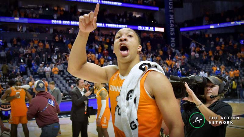 College Basketball Championship Sunday Betting Cheat Sheet: Odds, Picks, Trends article feature image