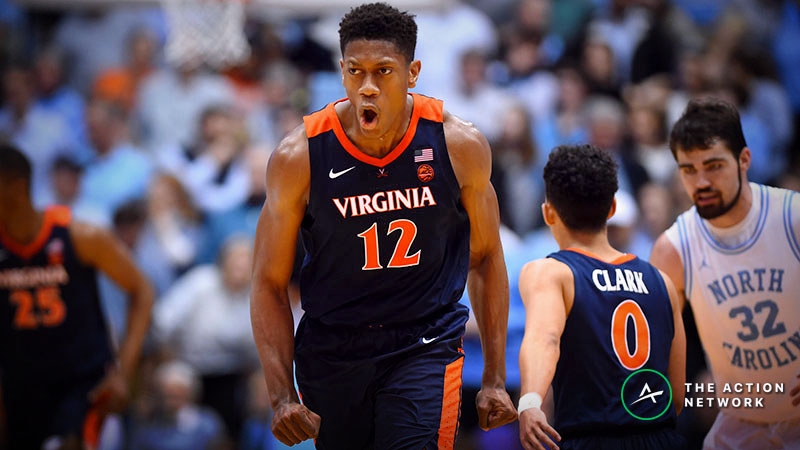 Virginia vs. Oregon Betting Odds: Opening Point Spread for NCAA Tournament Sweet 16 article feature image