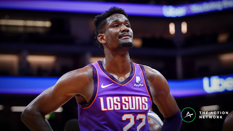 Raybon's Favorite NBA Props for Wednesday: Will DeAndre Ayton Secure 10 Rebounds? article feature image