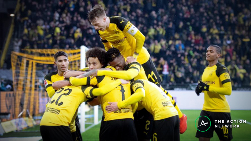 European Soccer Betting Previews, March 15-17: Can Dortmund Keep Pace with Bayern Munich? article feature image