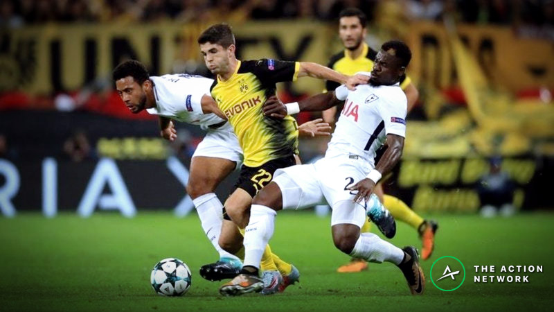 Champions League Round of 16: Can Dortmund Overcome a 3-0 Deficit Against Tottenham? article feature image