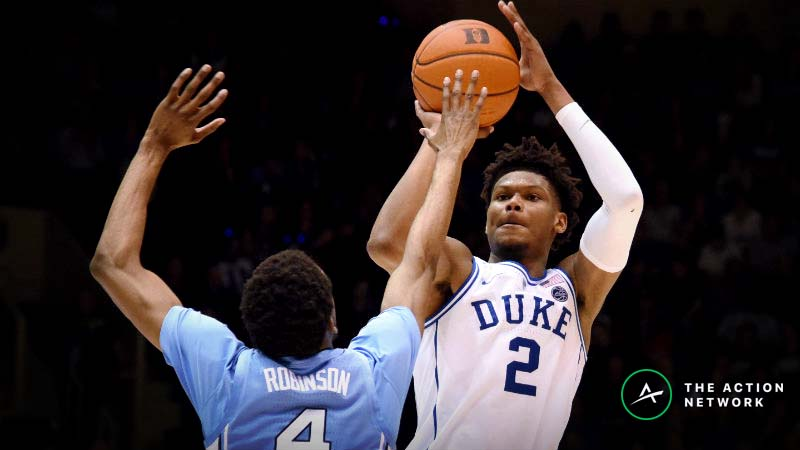 Duke-UNC Betting Guide: Do Odds Reflect Zion Williamson's Absence Enough? article feature image