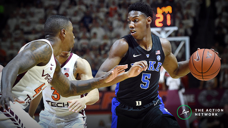 Sweet 16 Odds: Heavy Money Moving Virginia Tech-Duke Betting Line article feature image