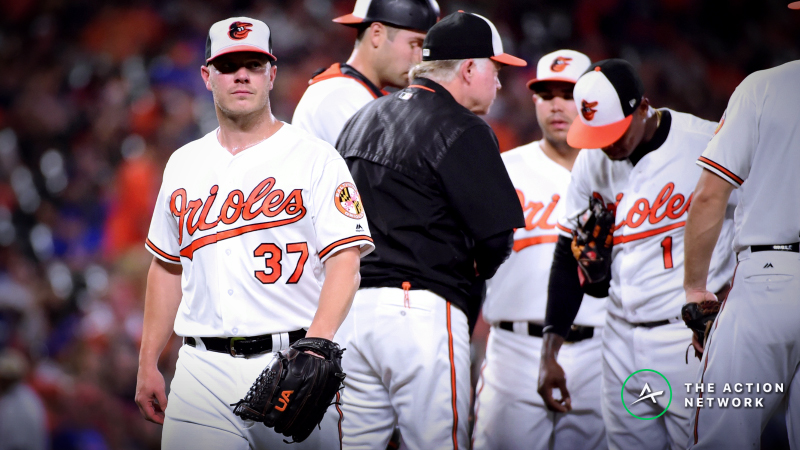 MLB Player Props: Can Dylan Bundy Hit His Strikeout Total Before Getting Bronx-Bombed? article feature image