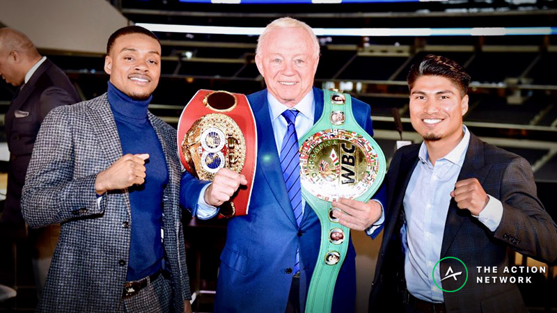 Errol Spence Jr. vs. Mikey Garcia Odds, Preview: One of the Boxing's Best Is a 3-1 Underdog article feature image