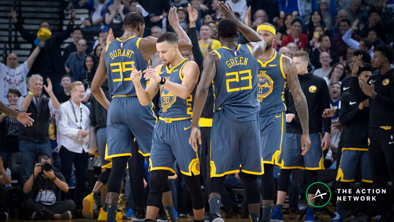 Warriors-76ers Betting Preview: Is Golden State Undervalued on the Road? article feature image