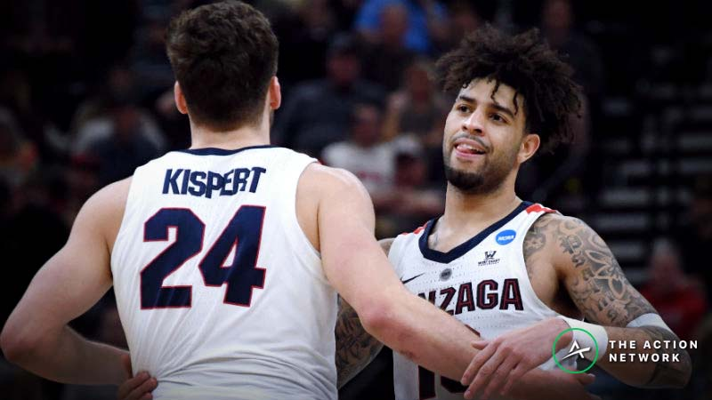 Gonzaga vs. Florida State Betting Odds: Over/Under on the Rise article feature image
