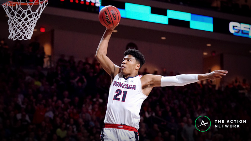 Gonzaga-Fairleigh Dickinson Betting Odds: Spread, Analysis for 2019 NCAA Tournament article feature image