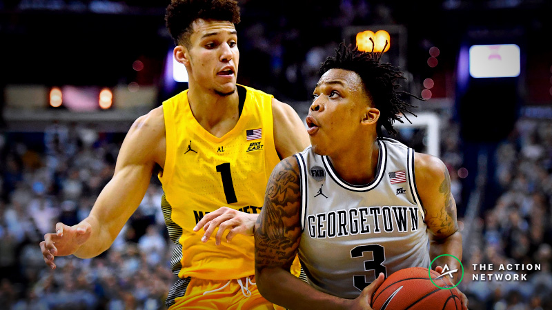 CBB Sharp Report: Pros Betting Georgetown-Marquette, 2 Other Saturday Games article feature image