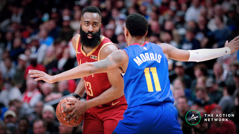How Sharps Are Betting Nuggets-Rockets Thursday Night Matchup article feature image