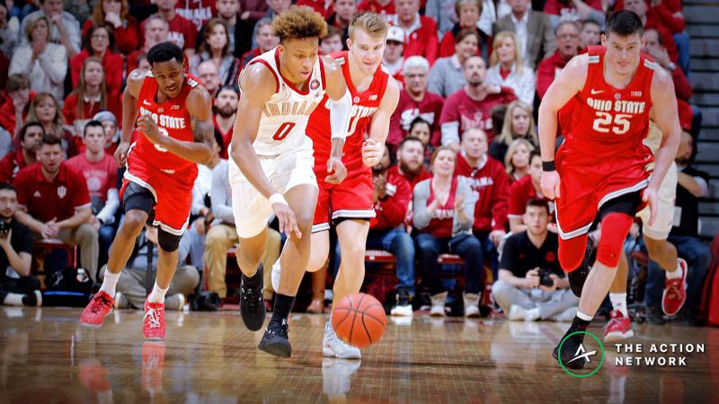 Thursday College Basketball Betting: Providence-Villanova, Indiana-Ohio State article feature image