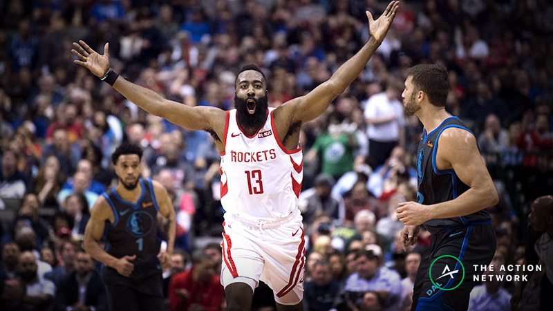 James Harden MVP Odds: Is Now the Time to Buy the Beard? article feature image