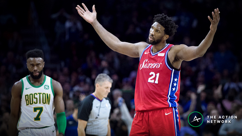 Celtics-76ers Betting Guide: Can the Sixers Avoid a Season Sweep? article feature image