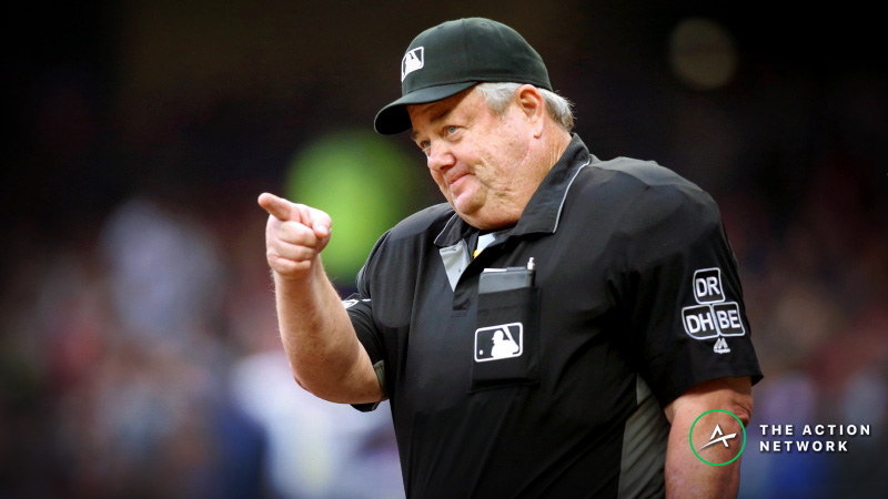 2019 MLB Betting: Get to Know Your Umpires article feature image