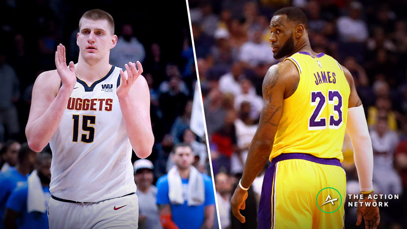 Nuggets-Lakers Betting Preview: Does LA Have Anything Left in the Tank? article feature image