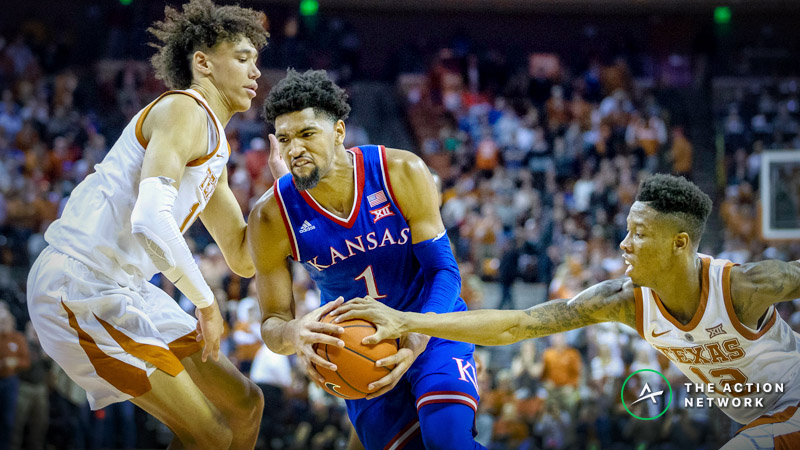 Thursday Night College Basketball Betting: St. John's-Marquette, Texas-Kansas article feature image