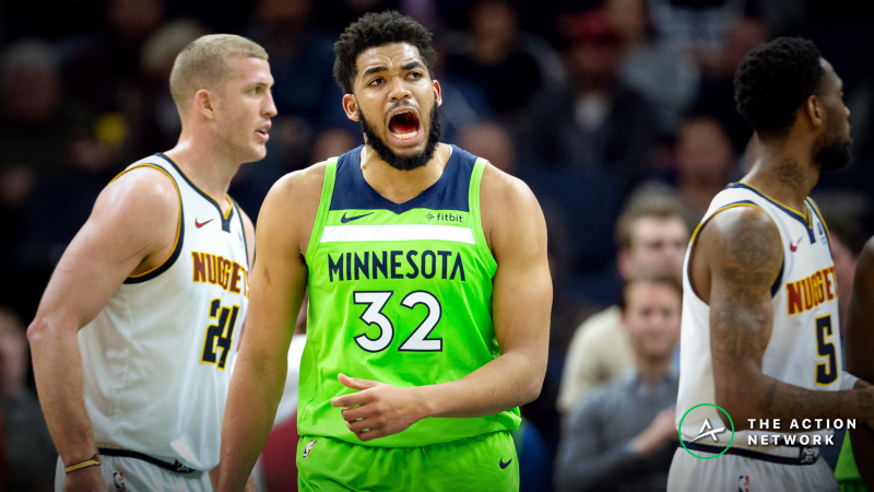 NBA Sharp Report: Wiseguys Betting Timberwolves-Nuggets, 2 Other Tuesday Games article feature image