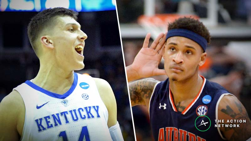 Kentucky vs. Auburn Betting Guide: Will Defenses Set Pace in an Elite Eight SEC Showdown? article feature image
