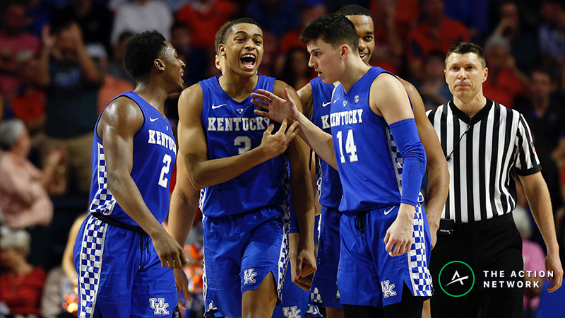 Franklin: Kentucky Will Be Just Fine Without PJ Washington vs. Wofford in NCAA Tournament article feature image