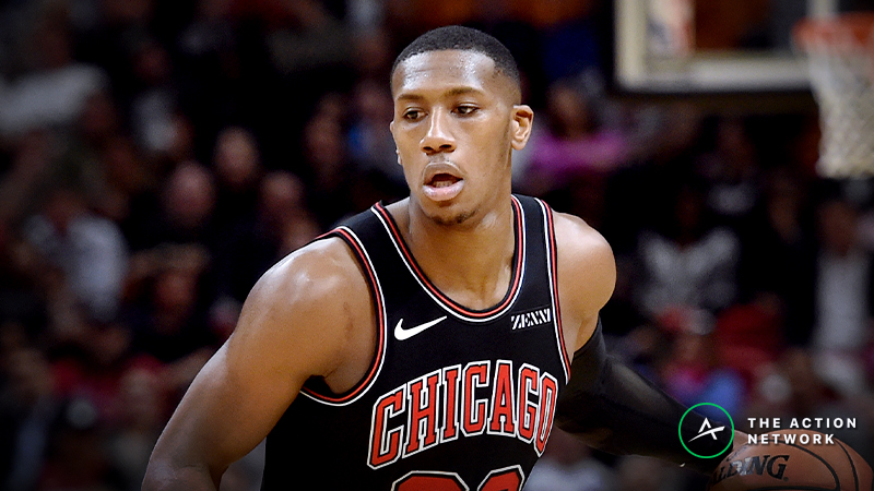Raybon's Favorite NBA Props for Tuesday: Kris Dunn Over/Under 12.5 Points? article feature image