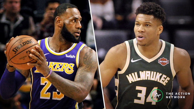 Bucks-Lakers Betting Preview: Can LA Cover Against the NBA's Best? article feature image