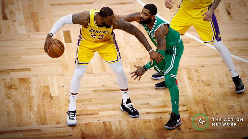 Celtics-Lakers Betting Preview: Can LA Break Its Losing Streak? article feature image