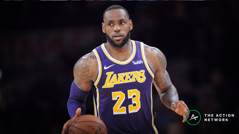 NBA Sharp Report: Blazers-Hawks, Hornets-Lakers Drawing Smart Money Friday article feature image