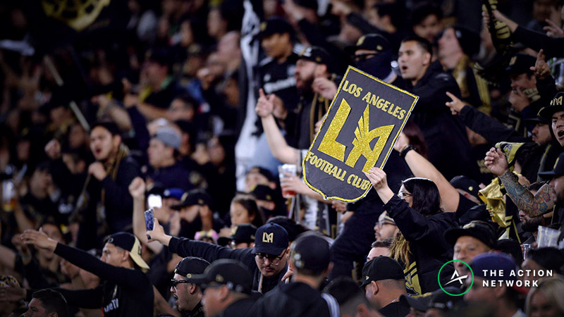 MLS Betting Preview: Will LAFC and Seattle Sounders be the First to Reach Four Wins? article feature image