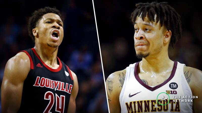 Louisville vs. Minnesota Betting Guide: Is Either Team Set Up for NCAA Tournament Run? article feature image