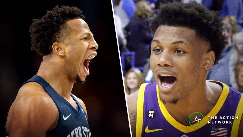 Saturday's College Basketball Betting Previews: LSU-Alabama, Penn State-Wisconsin article feature image