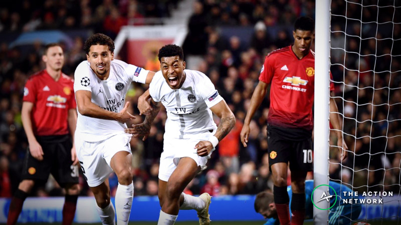 Champions League Round of 16: Public Bettors Believe in Manchester United at PSG article feature image