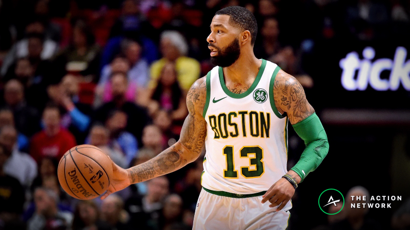 Raybon's Favorite NBA Props for Monday: Will Marcus Morris Grab 6 Rebounds? article feature image