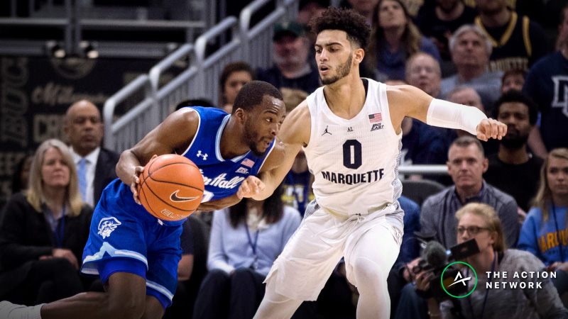 Marquette-Seton Hall Betting Preview: Which Team Needs the Win More? article feature image