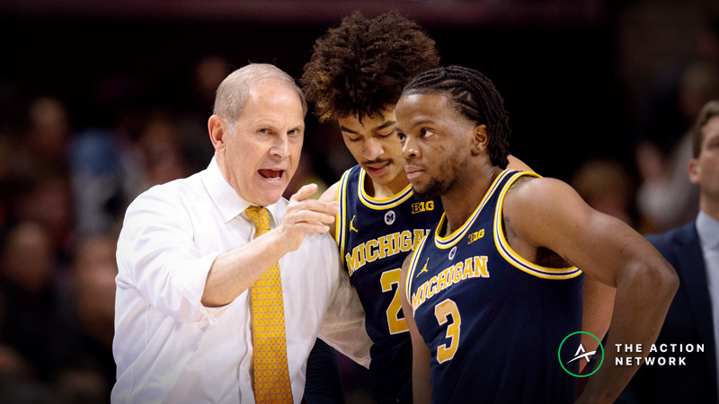 College Basketball Betting Picks: Our Staff's 5 Favorite Plays for Sunday article feature image