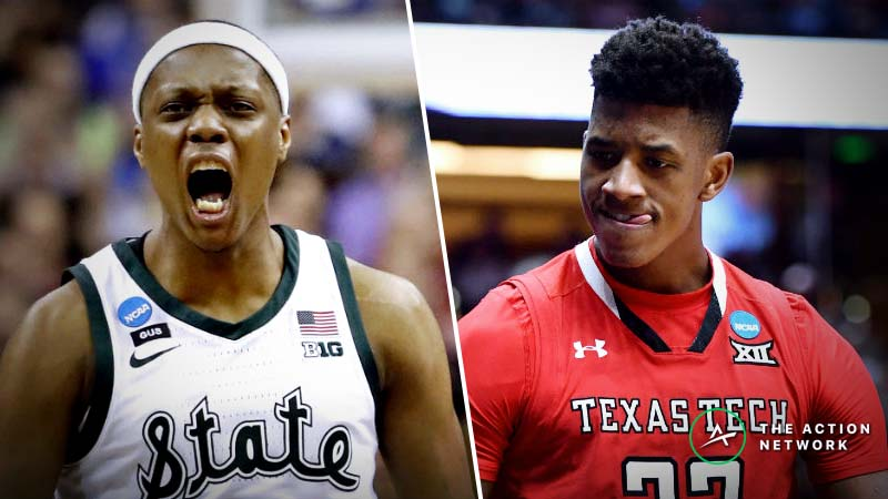 Michigan State vs. Texas Tech Betting Odds: Point Spread, Over/Under for 2019 Final Four article feature image