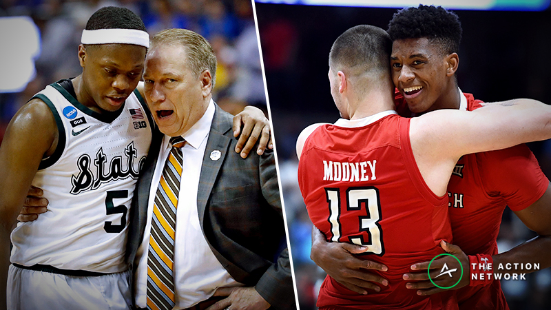 Final Four Instant Betting Reaction: Michigan State Matches Up Well vs. Texas Tech | The Action ...