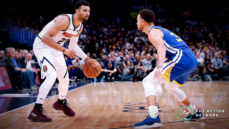 Nuggets-Warriors Betting Preview: Is Denver Undervalued on the Road? article feature image
