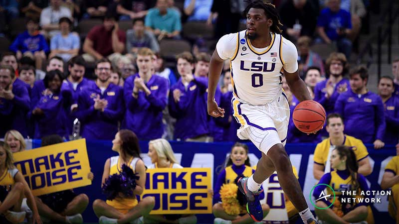 LSU vs. Maryland Betting Guide: Will Tigers Turn This NCAA Tournament Game Into a Track Meet? article feature image