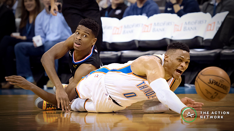 NBA Sharp Report: Thunder-Clippers Leads Friday's Favorite Pro Bets article feature image